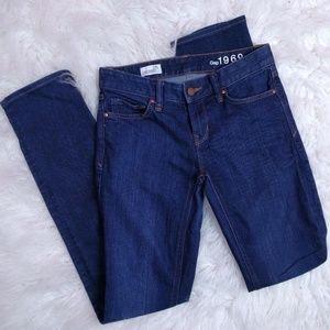 @ Gap 1969 Straight Jeans sz 24 Dark Wash
